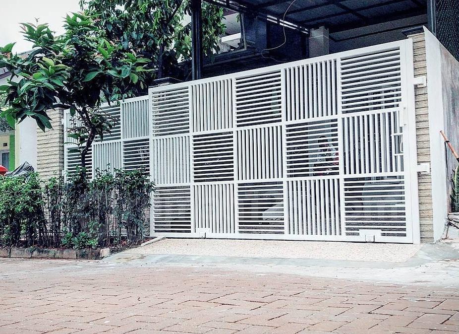 Keindahan Pagar Rumah Minimalis - Las Bandung 88